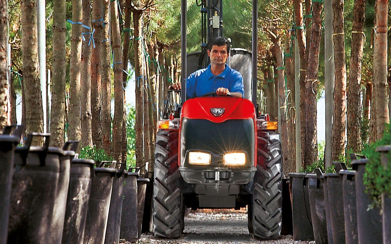 Carraro SN V Major - monodirektioneller, knickgelenkter Traktor