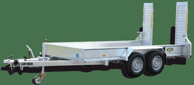 Baumaschinenanhänger UBA UBA 3536-14-1800