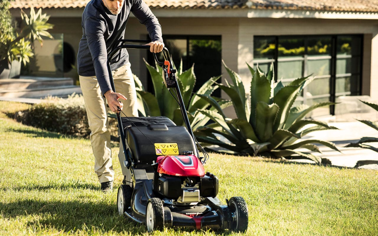 Honda-Gartengeräte - Rasenmäher HONDA HRX
