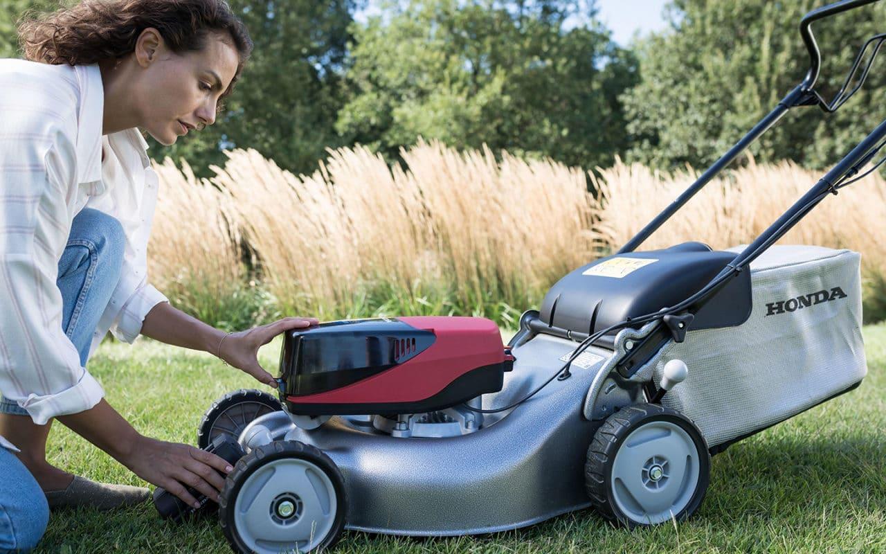 Honda-Gartengeräte - Akku-Rasenmäher HONDA IZY-on